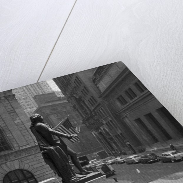 Silence on Wall Street by Corbis