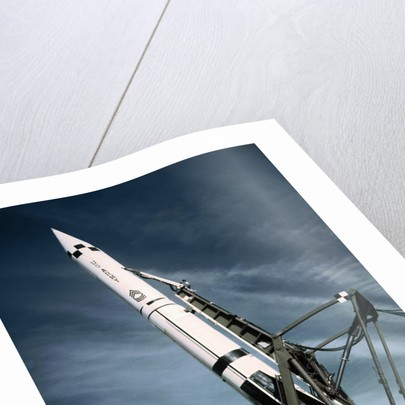 Rocket Site on Launching Pad by Corbis