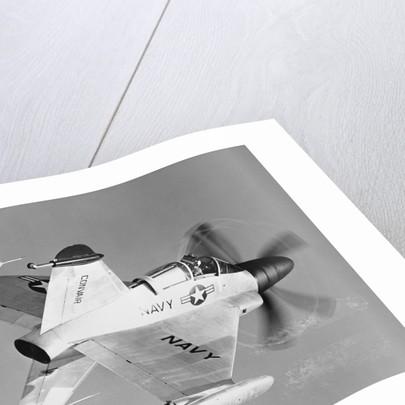 Convair XFY-1 Pogo Navy Fighter by Corbis