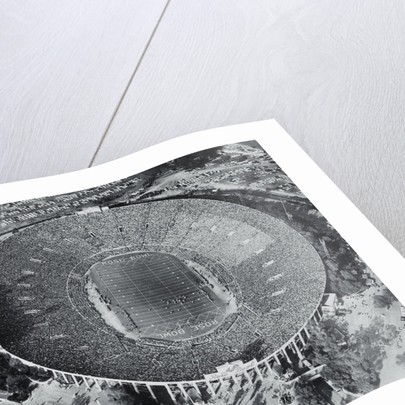 Ariel View of the Rose Bowl by Corbis