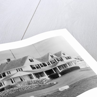 Exterior View of Home of Joseph Patrick Kennedy Sr. by Corbis
