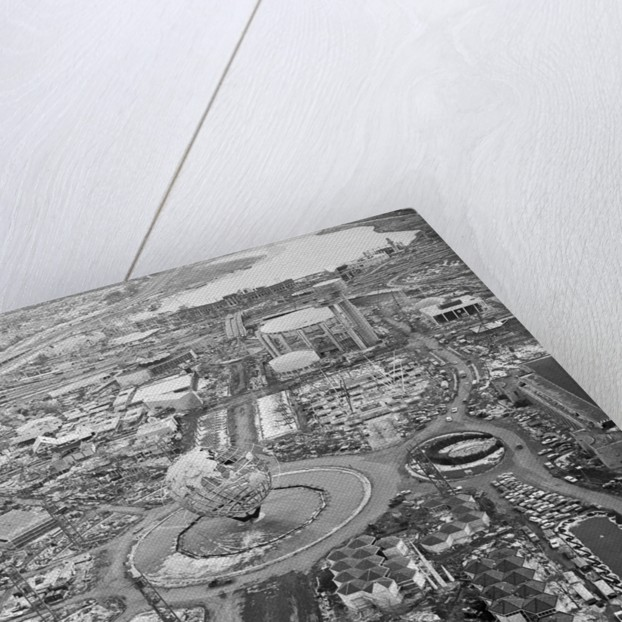 Aerial View of the Unisphere by Corbis