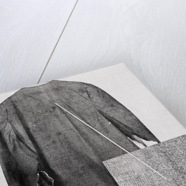 View of The Back of John F. Kennedy's Suit Coat Showing Bullet entrance Hole by Corbis