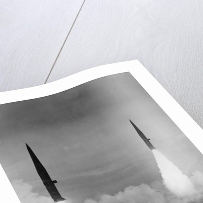 Missiles Being Launched into Sky by Corbis