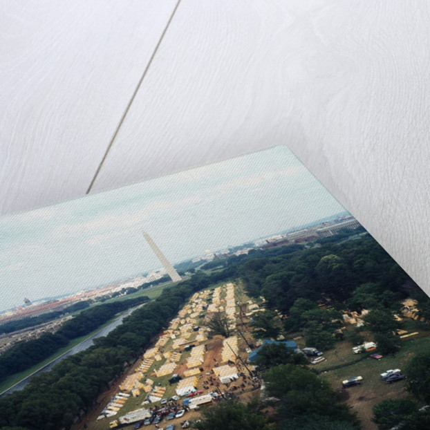 Aerial View of Resurrection City Encampment by Corbis