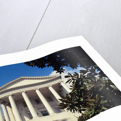 View of Virginia State Capitol by Corbis