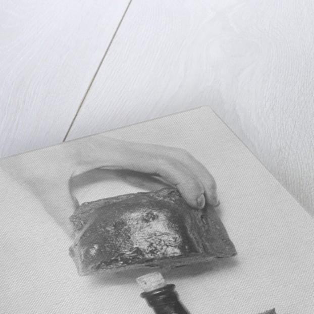 Whiskey Bottle Hidden in Bread by Corbis