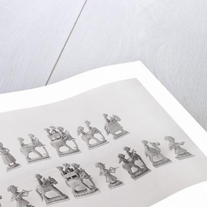 Napoleon's Chess Statuettes by Corbis