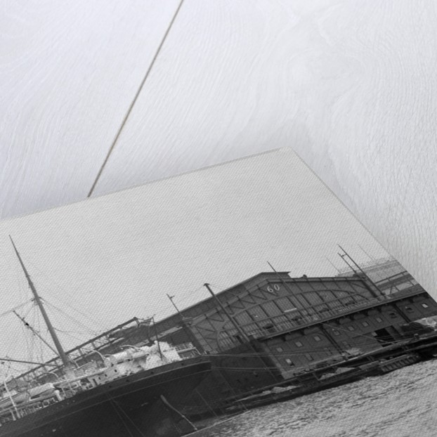 Adriatic Ship Docked by Corbis