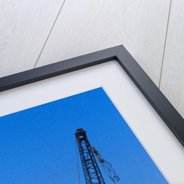 Crane Moving Trajan's Kiosk by Corbis