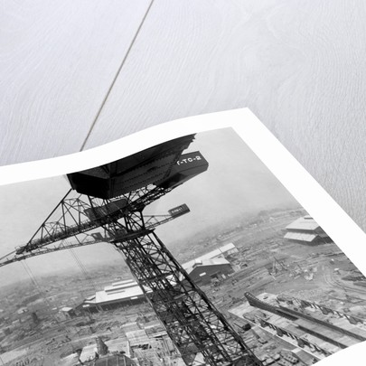 Cranes and Machinery Yard for Building Ships by Corbis