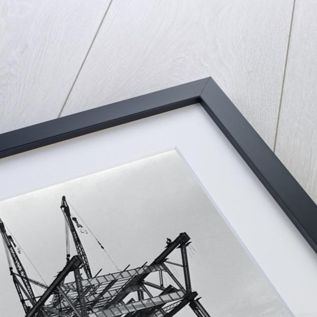 Construction on a Bridge by Corbis