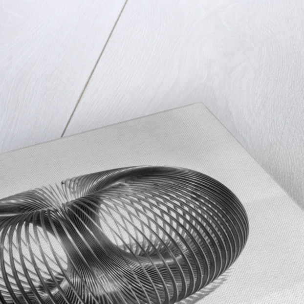 Close up View of American Toy Slinky by Corbis