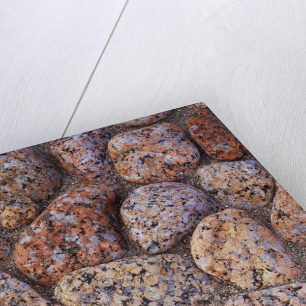 Granite Rocks on Shoreline by Corbis