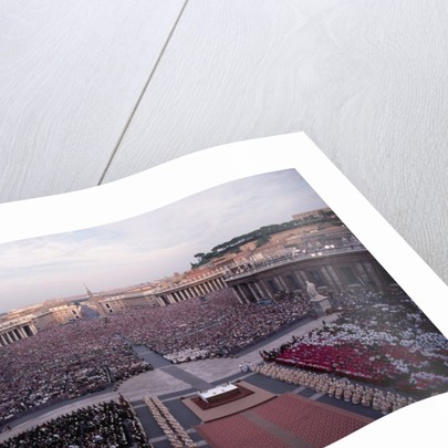 Crowds in Saint Peter's Square by Corbis