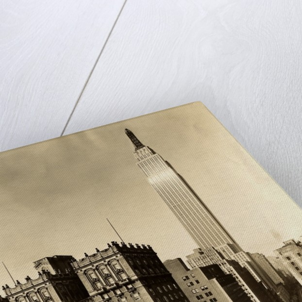 Close-Up of Empire State Building by Corbis