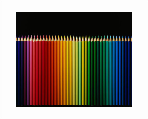 Colored Pencils by Corbis
