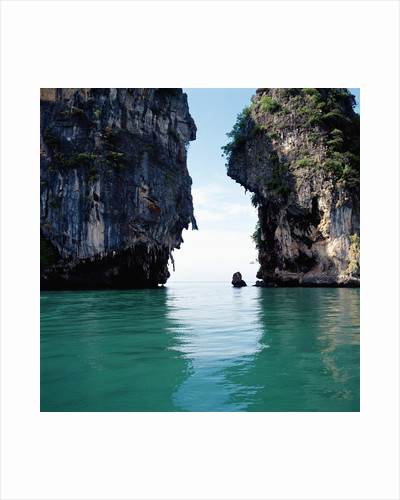 Thai coastline by Corbis