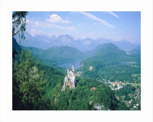 Neuschwanstein castle (Bavaria, Germany) by Corbis