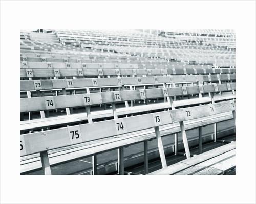 Empty stadium by Corbis