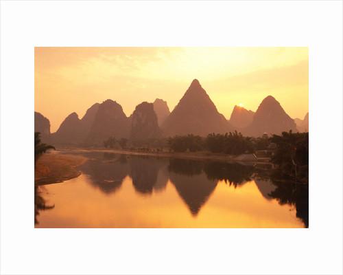 Li River Guilin, Yangshuo, Guangxi Province, China by Corbis