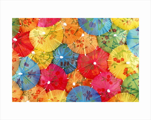 Colourful paper shades by Corbis