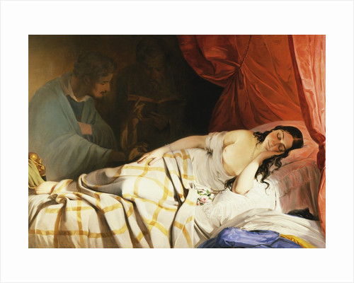 The Dream by Friedrich von Amerling