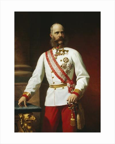 Kaiser Franz Josef I of Austria in Uniform by Carl von Blaas