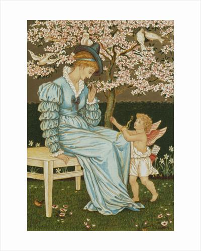 Cupid's Dart by Walter Crane