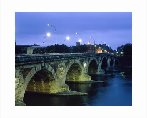 GEOGRAPHY & TRAVEL EUROPE FRANCE ALBI ARCHITECTURE BRIDGE BOW ARCH BRIDGE RIVER WATER Illumin by Corbis