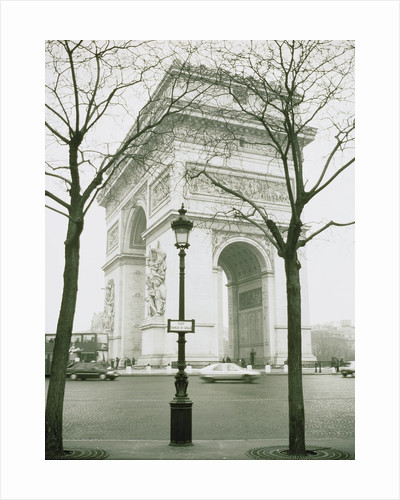 Arc de Triomphe and Place Charles de Gaulle in Paris by Corbis