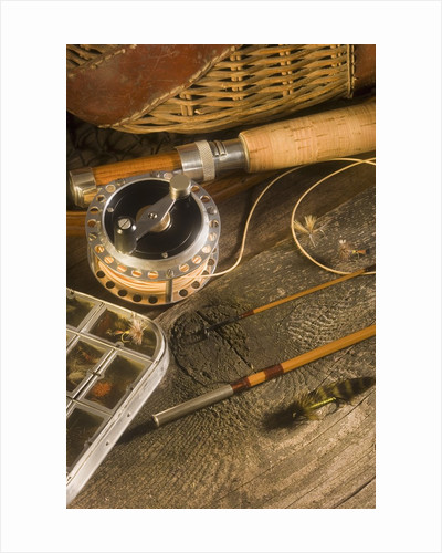 Fly Fishing Equipment by Corbis