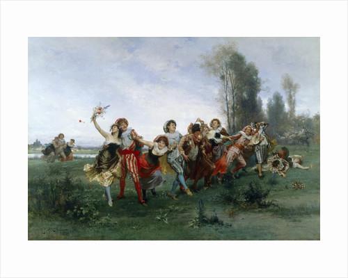 Merry Band by Emile Antoine Bayard