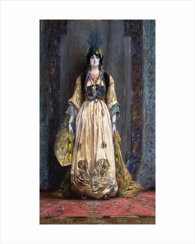 The Oriental Costume by Georges Clairin