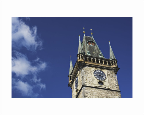 Old Town Hall Clock Tower in Prague by Corbis