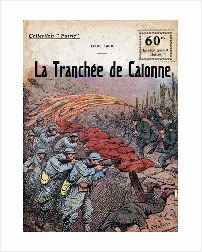 Cover Illustration of The Trench of Calonne by Leon Groc