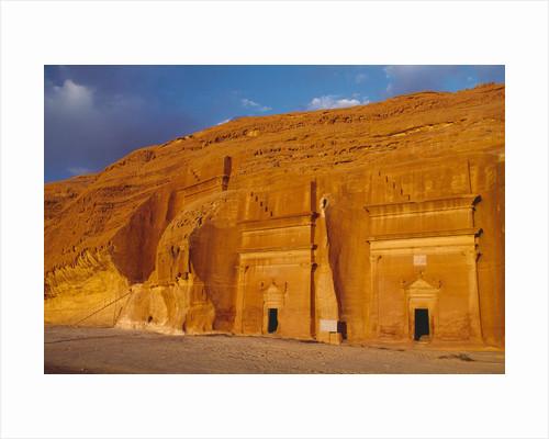 Tombs of Madain Saleh by Corbis