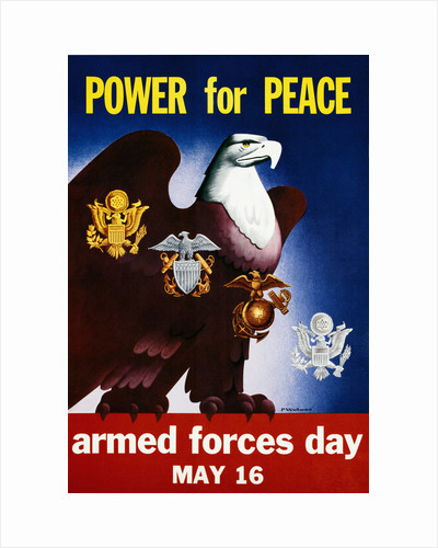 Power for Peace Poster by P. Wollman