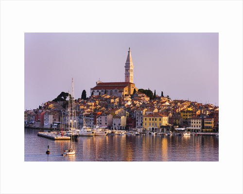 Old Town of Rovinj by Corbis