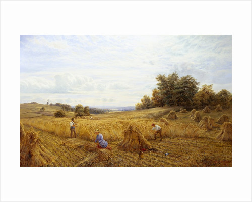 Harvest Time by Alfred Augustus Glendening II
