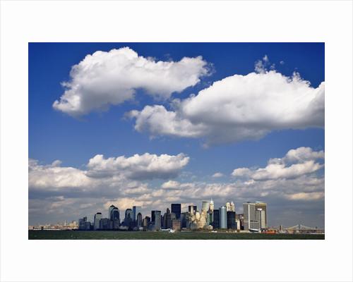 Lower Manhattan Skyline by Corbis