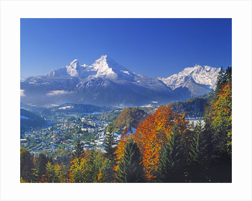 Berchtesgaden and Mount Watzmann by Corbis
