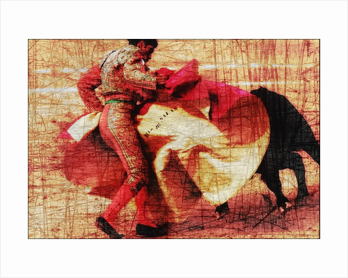 San Miguel, Bullfight #1 by Doug Landreth