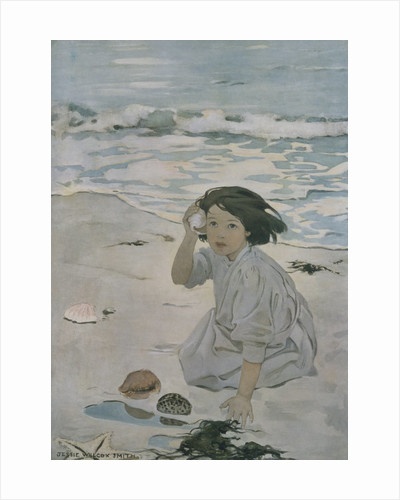 The Senses: Hearing by Jessie Willcox Smith