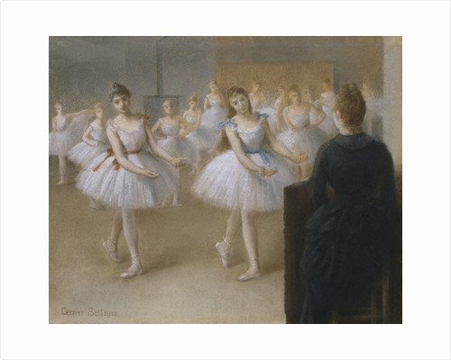 The Dance Lesson by Pierre Carrier-Belleuse