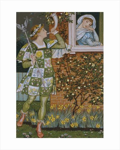 The Garden of Love by Walter Crane