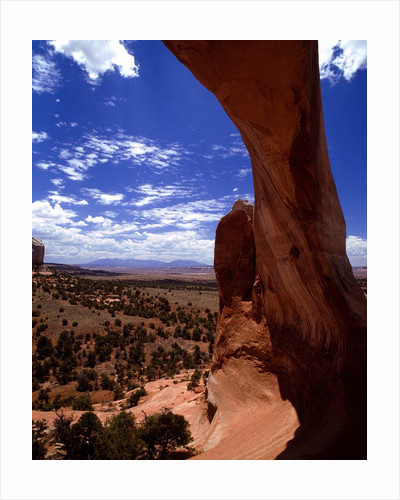 Natural Arch, Arches National Park, Utah by Corbis