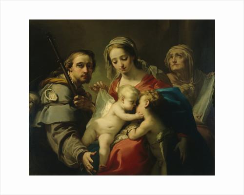 Madonna and Child by Gaetano Gandolfi