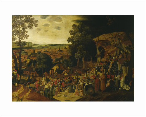 Christ on the Way to Calvary by Pieter Brueghel the Younger