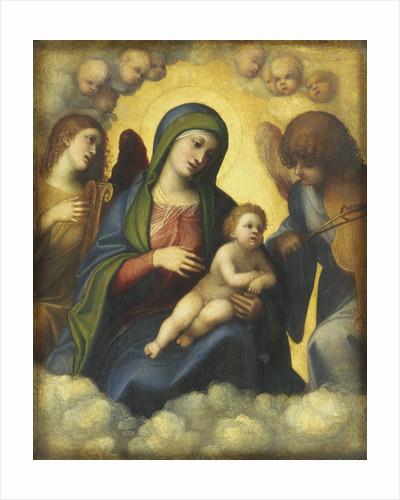 Madonna and Child in Glory by Correggio